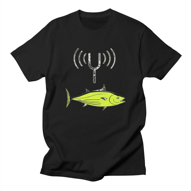 Tuner Fish Men's Regular T-Shirt by View From Brooklyn T-Shirt Shop
