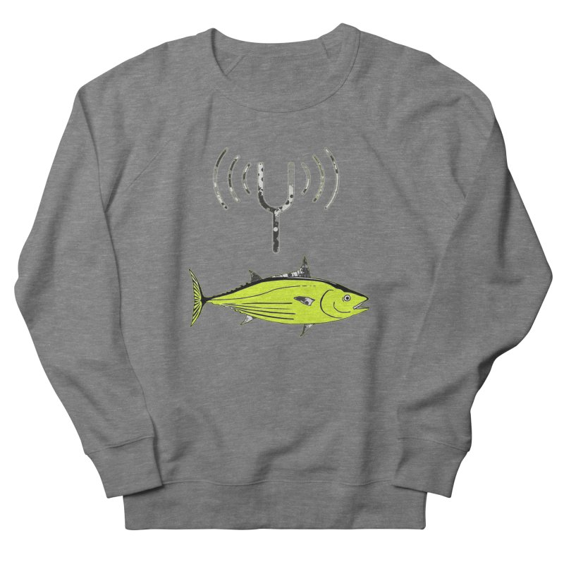 Tuner Fish Women's French Terry Sweatshirt by View From Brooklyn T-Shirt Shop
