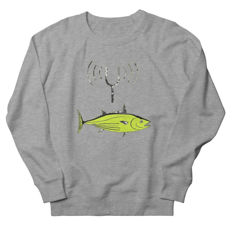 Tuner Fish Men's French Terry Sweatshirt by View From Brooklyn T-Shirt Shop