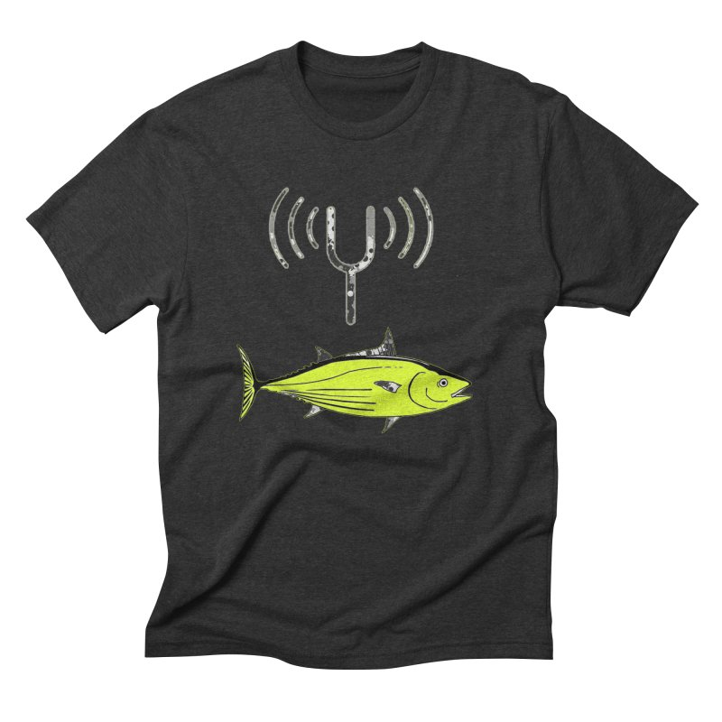 Tuner Fish Men's Triblend T-Shirt by View From Brooklyn T-Shirt Shop