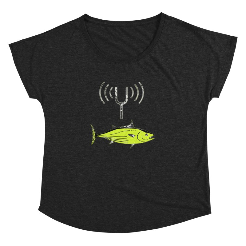 Tuner Fish Women's Dolman Scoop Neck by View From Brooklyn T-Shirt Shop