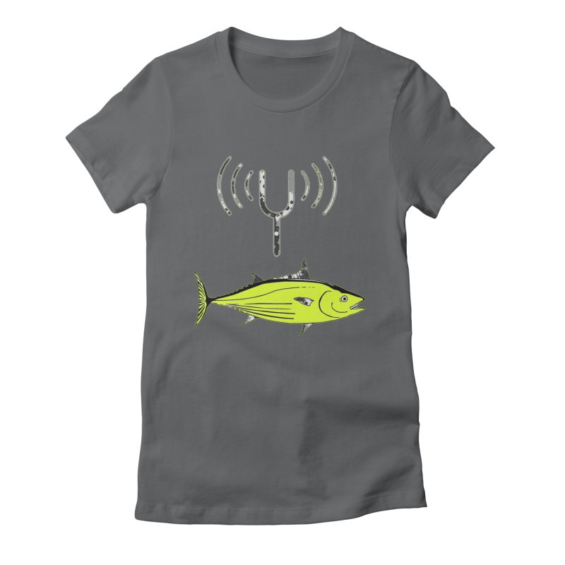 Tuner Fish Women's Fitted T-Shirt by View From Brooklyn T-Shirt Shop