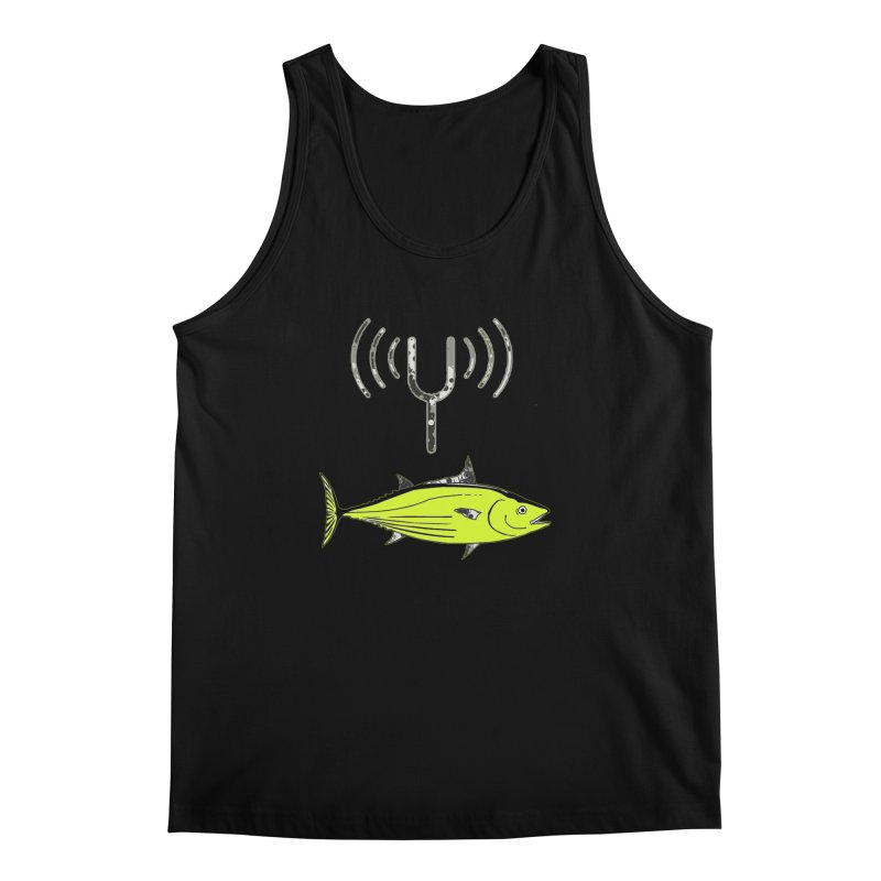 Tuner Fish Men's Regular Tank by View From Brooklyn T-Shirt Shop