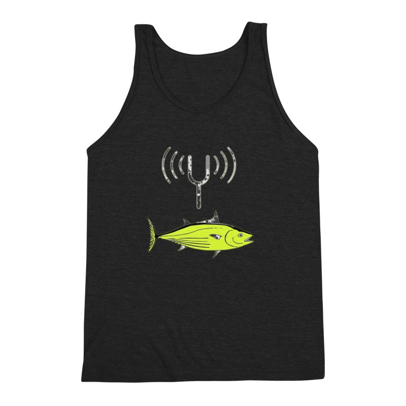 Tuner Fish Men's Triblend Tank by View From Brooklyn T-Shirt Shop