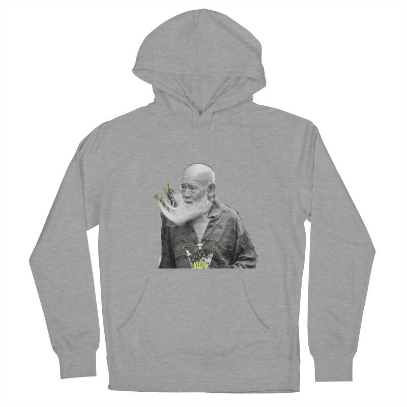 Blow Back Women's French Terry Pullover Hoody by View From Brooklyn T-Shirt Shop