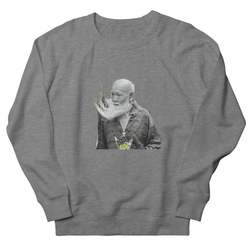 Blow Back Men's French Terry Sweatshirt by View From Brooklyn T-Shirt Shop