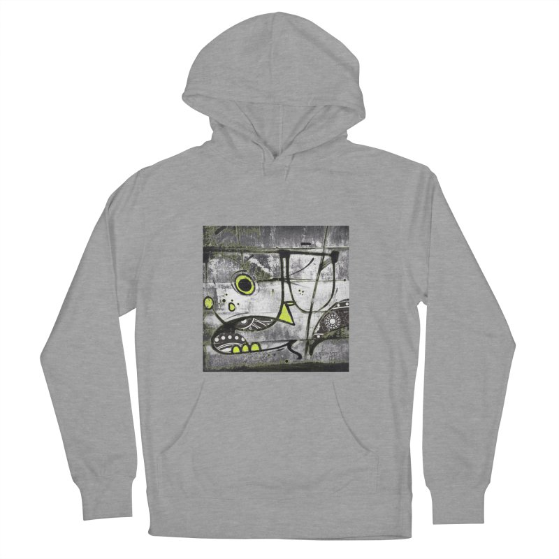 Myopic Men's French Terry Pullover Hoody by View From Brooklyn T-Shirt Shop