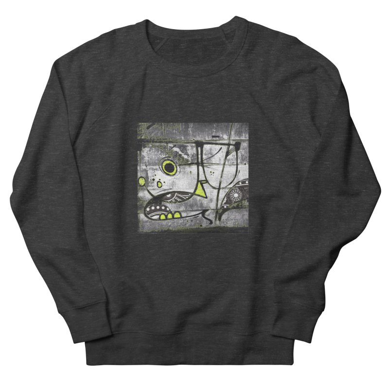 Myopic Men's French Terry Sweatshirt by View From Brooklyn T-Shirt Shop