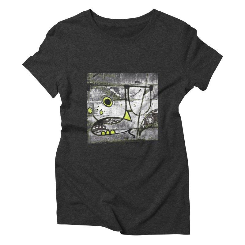 Myopic Women's Triblend T-shirt by View From Brooklyn T-Shirt Shop