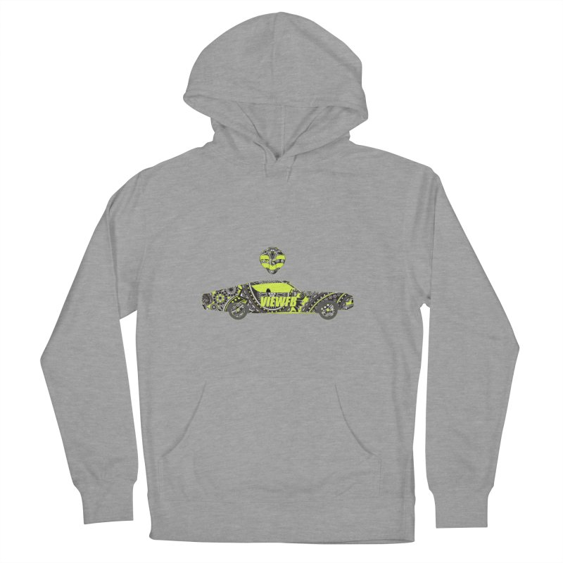 Cobra View Women's French Terry Pullover Hoody by View From Brooklyn T-Shirt Shop