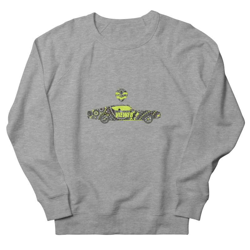 Cobra View Men's French Terry Sweatshirt by View From Brooklyn T-Shirt Shop