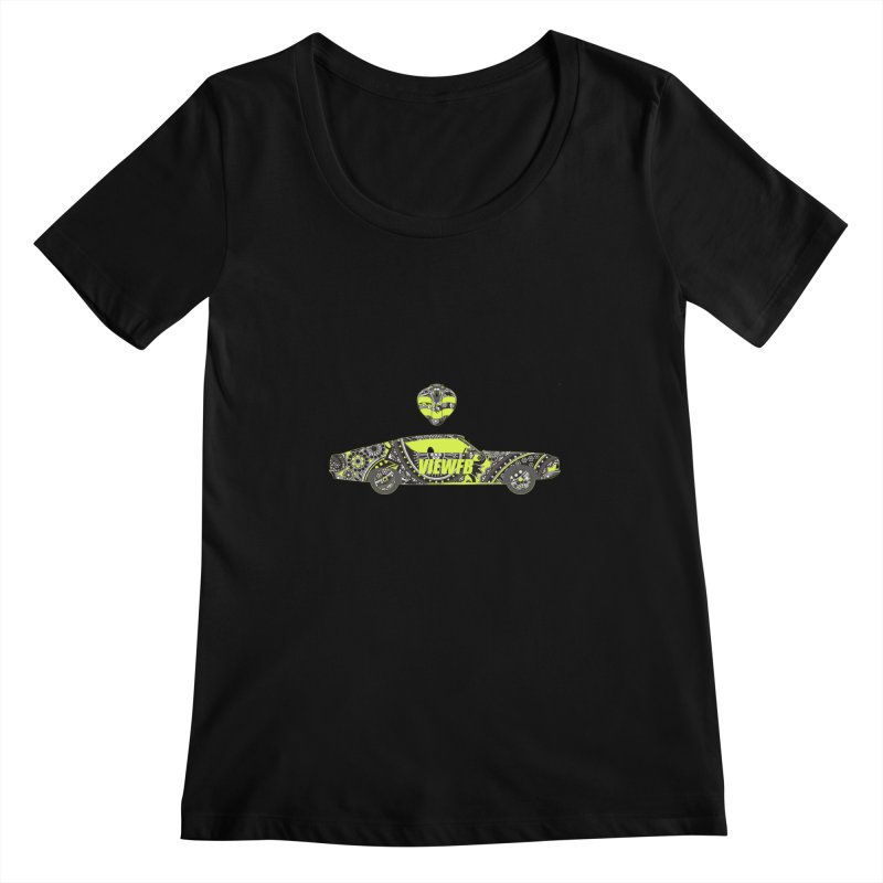 Cobra View Women's Scoopneck by View From Brooklyn T-Shirt Shop