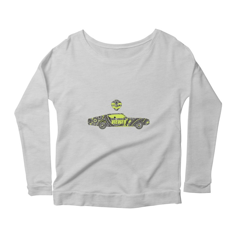 Cobra View Women's Scoop Neck Longsleeve T-Shirt by View From Brooklyn T-Shirt Shop