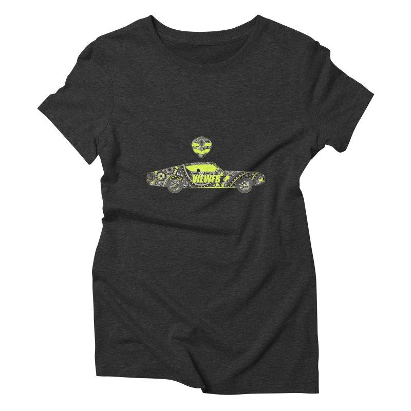 Cobra View Women's Triblend T-shirt by View From Brooklyn T-Shirt Shop