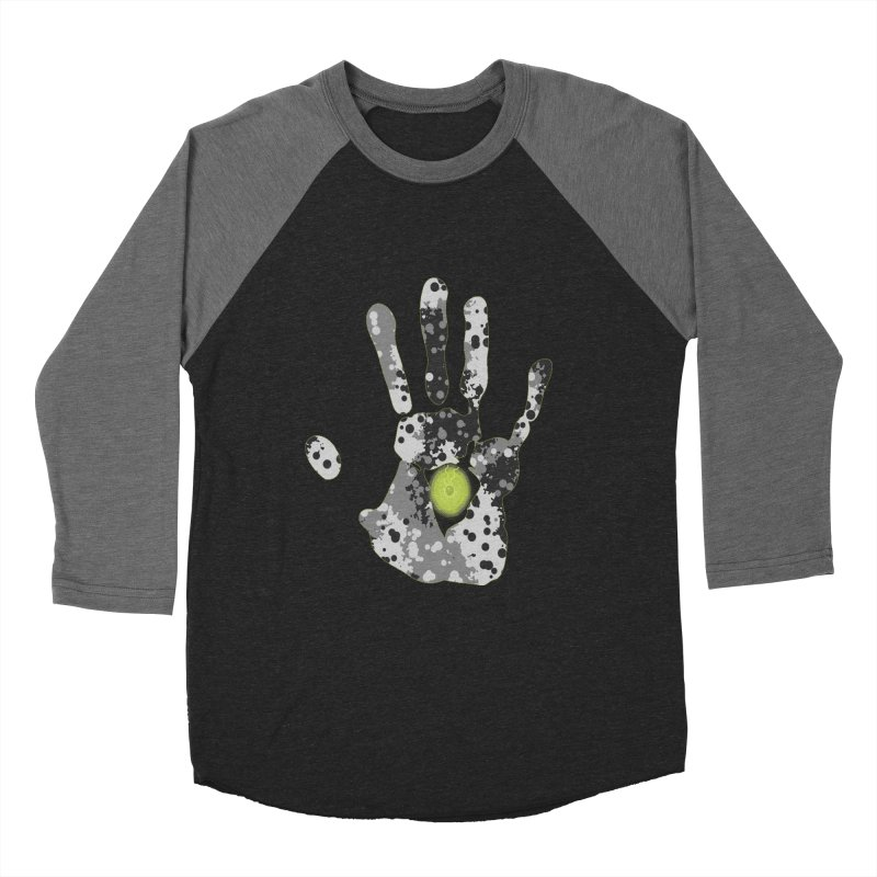 Hand of fate Men's Baseball Triblend Longsleeve T-Shirt by View From Brooklyn T-Shirt Shop