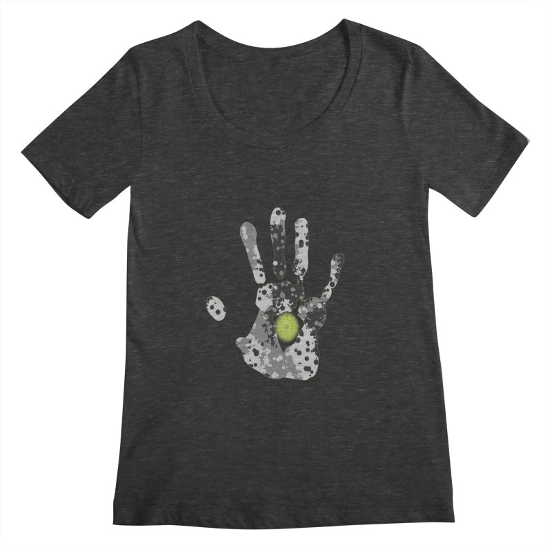 Hand of fate Women's Scoopneck by View From Brooklyn T-Shirt Shop