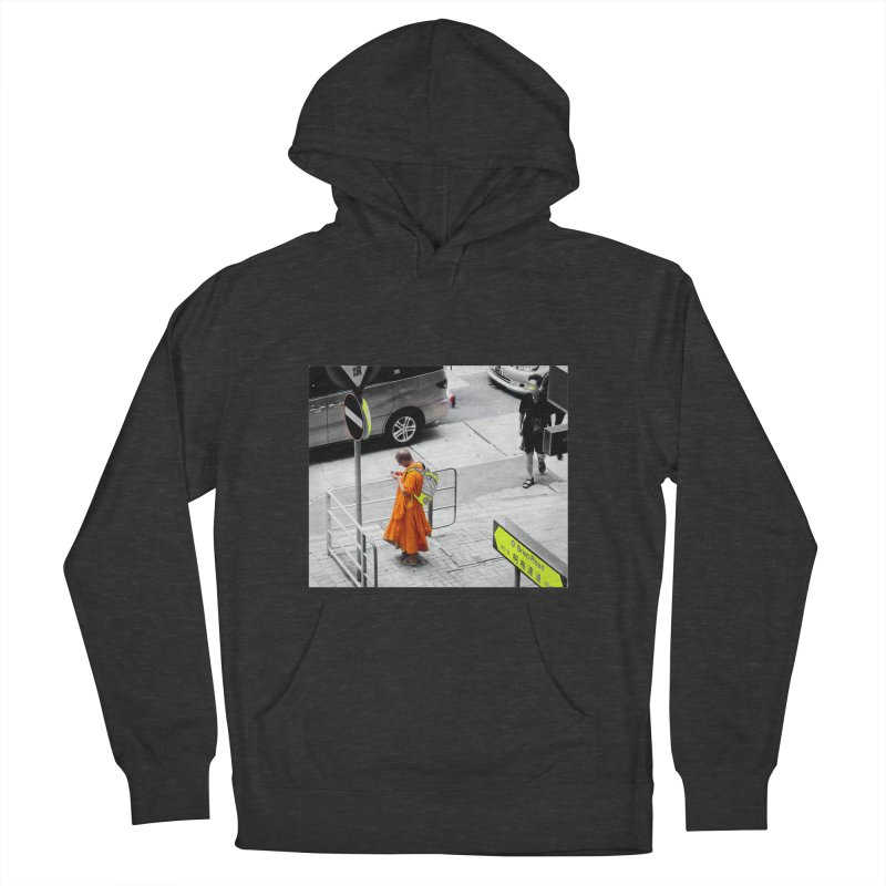 Digital Monk Women's French Terry Pullover Hoody by View From Brooklyn T-Shirt Shop
