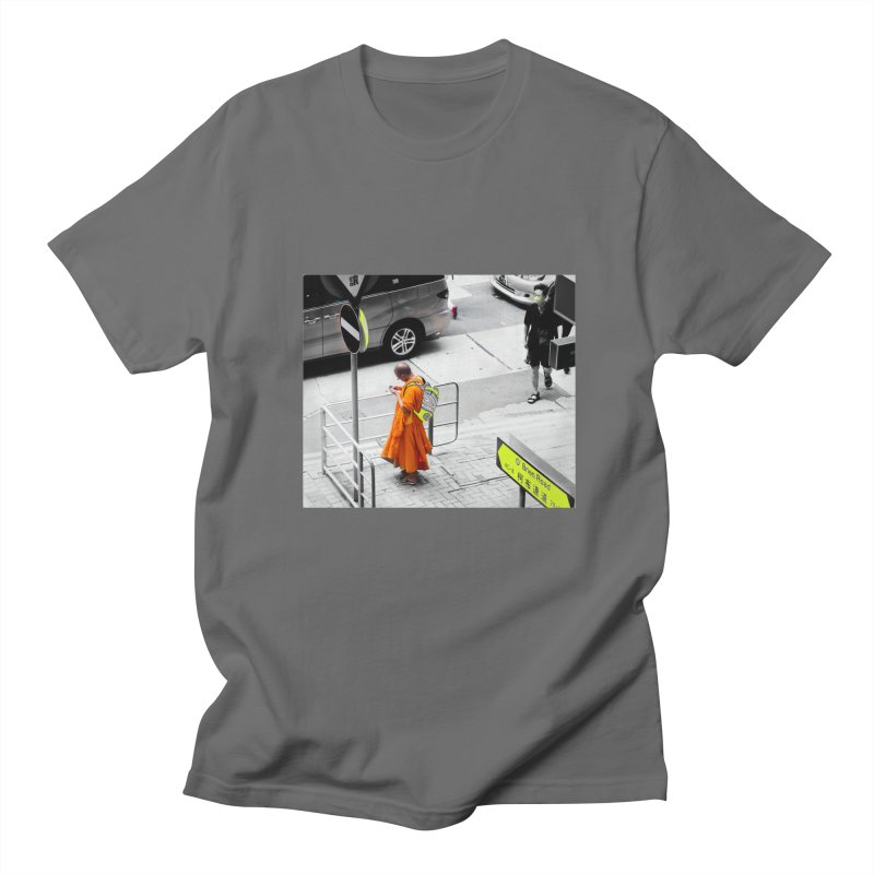 Digital Monk Men's Regular T-Shirt by View From Brooklyn T-Shirt Shop