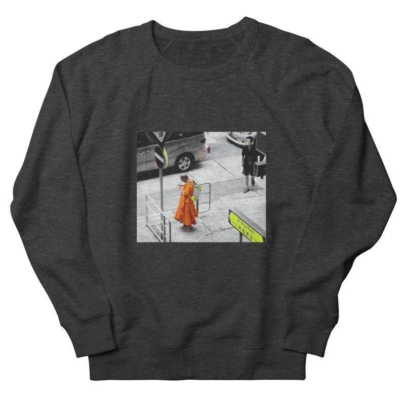 Digital Monk Men's Sweatshirt by View From Brooklyn T-Shirt Shop