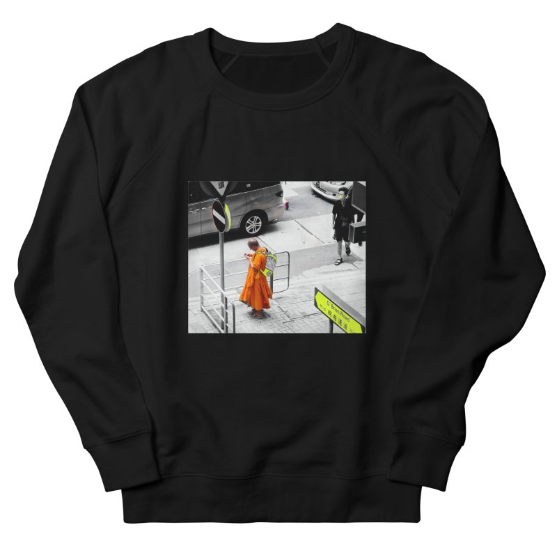 Digital Monk Men's French Terry Sweatshirt by View From Brooklyn T-Shirt Shop