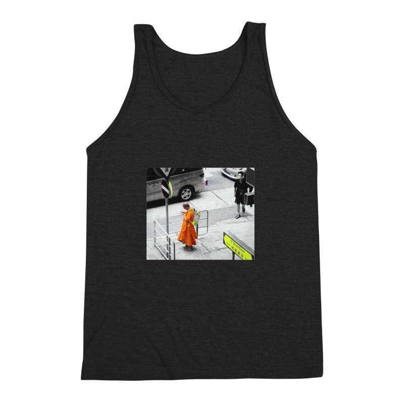Digital Monk Men's Triblend Tank by View From Brooklyn T-Shirt Shop