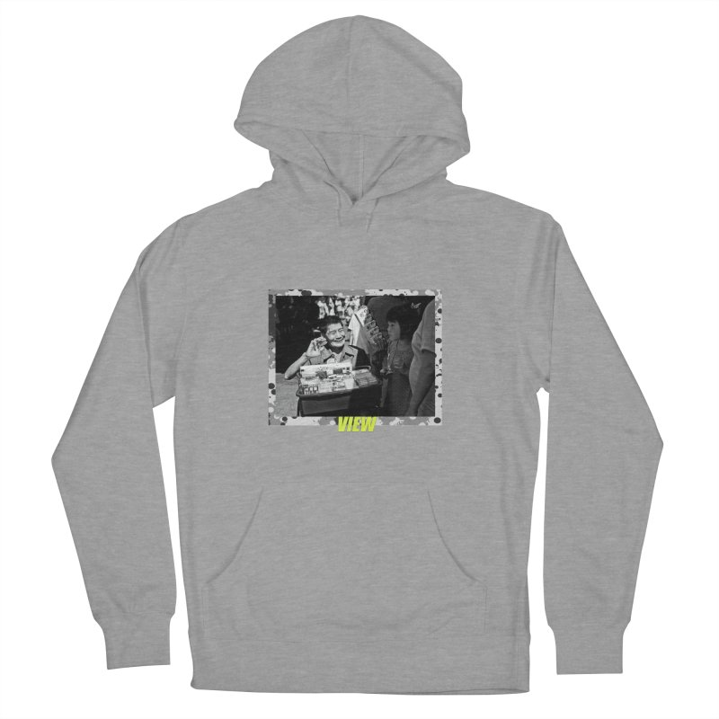 Engaging Men's French Terry Pullover Hoody by View From Brooklyn T-Shirt Shop