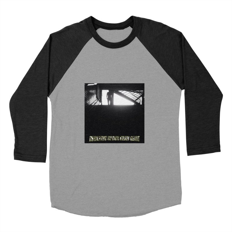Negative Space Case Men's Baseball Triblend T-Shirt by View From Brooklyn T-Shirt Shop