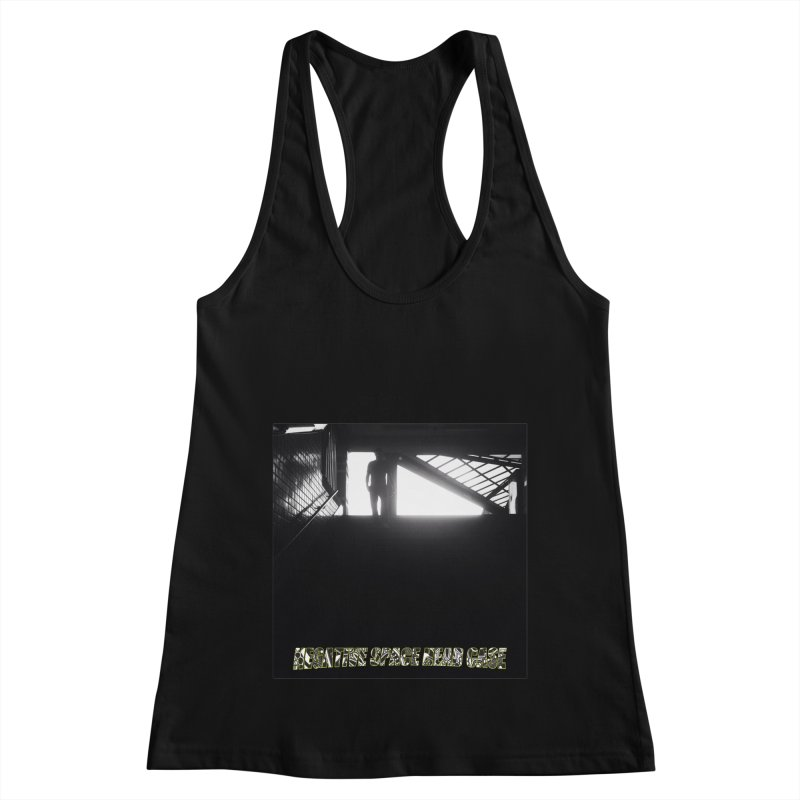Negative Space Case Women's Racerback Tank by View From Brooklyn T-Shirt Shop