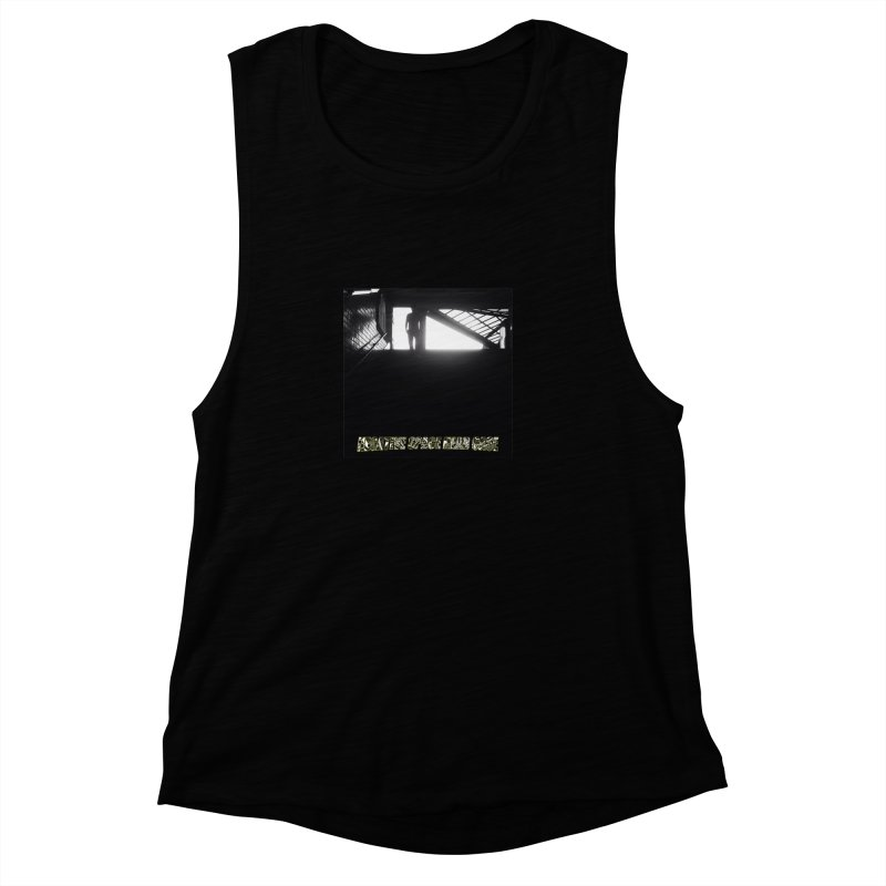 Negative Space Case Women's Muscle Tank by View From Brooklyn T-Shirt Shop