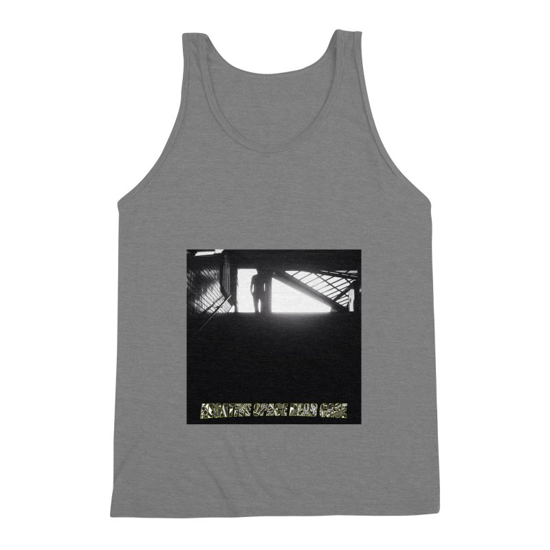 Negative Space Case Men's Triblend Tank by View From Brooklyn T-Shirt Shop