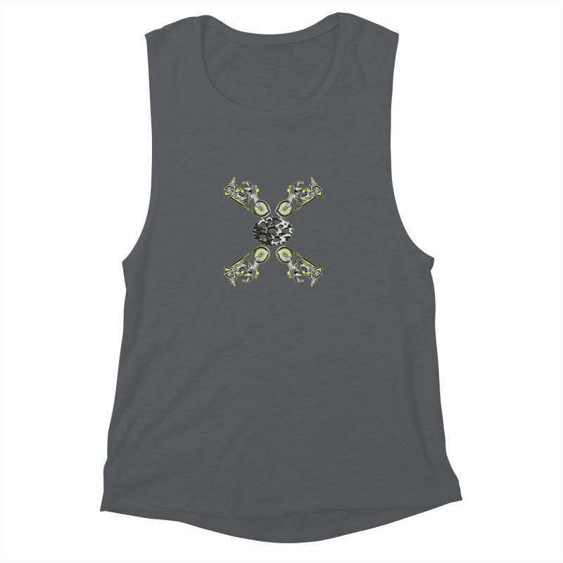 Free Ride Women's Muscle Tank by View From Brooklyn T-Shirt Shop