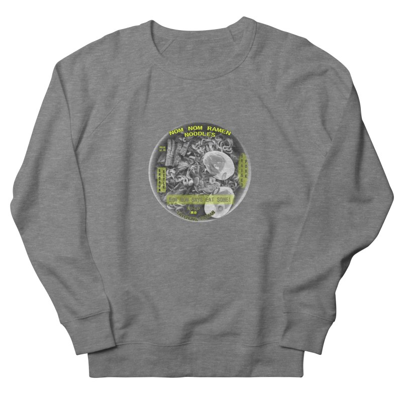 Nom Nom Ramen Men's French Terry Sweatshirt by View From Brooklyn T-Shirt Shop