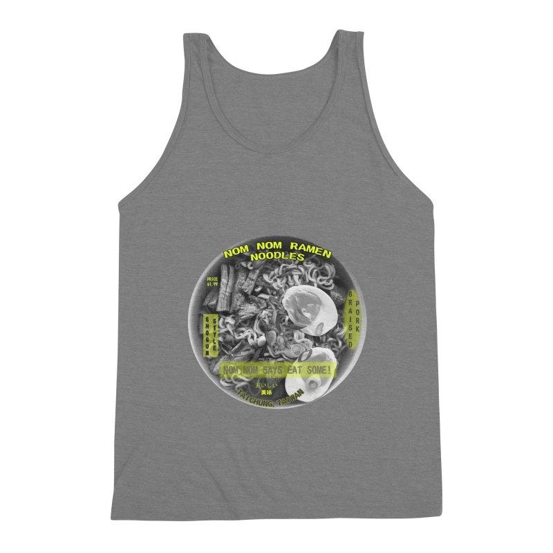 Nom Nom Ramen Men's Triblend Tank by View From Brooklyn T-Shirt Shop