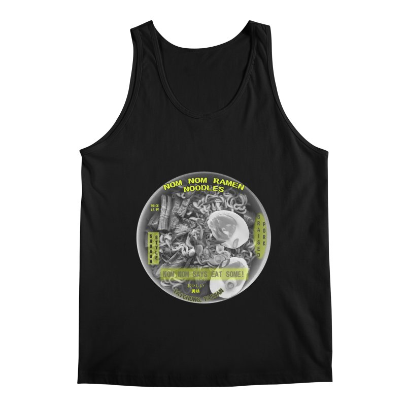 Nom Nom Ramen Men's Regular Tank by View From Brooklyn T-Shirt Shop