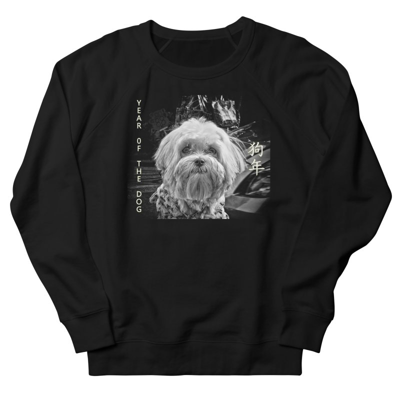Year of the Dog Men's Sweatshirt by View From Brooklyn T-Shirt Shop