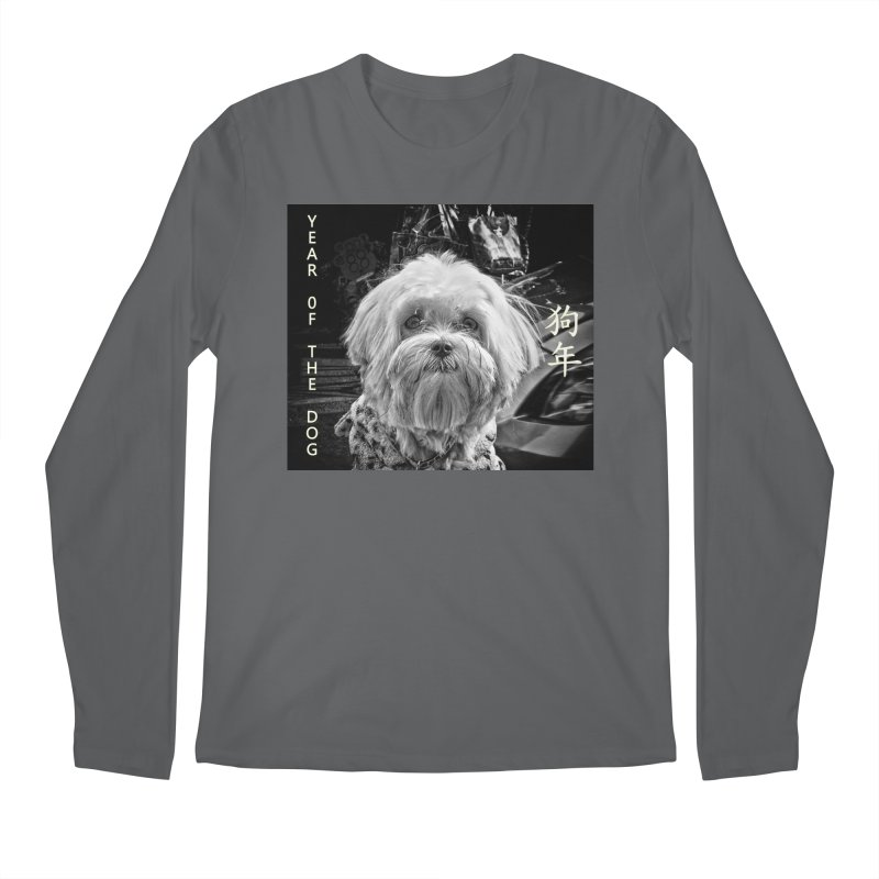 Year of the Dog Men's Longsleeve T-Shirt by View From Brooklyn T-Shirt Shop