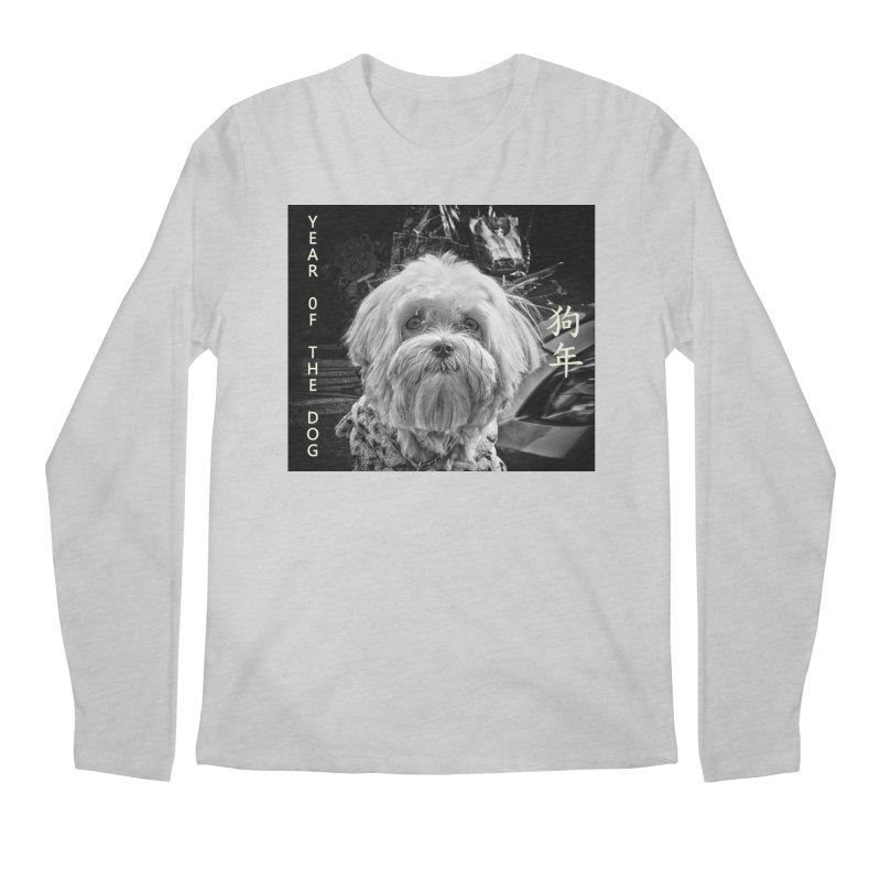Year of the Dog Men's Regular Longsleeve T-Shirt by View From Brooklyn T-Shirt Shop