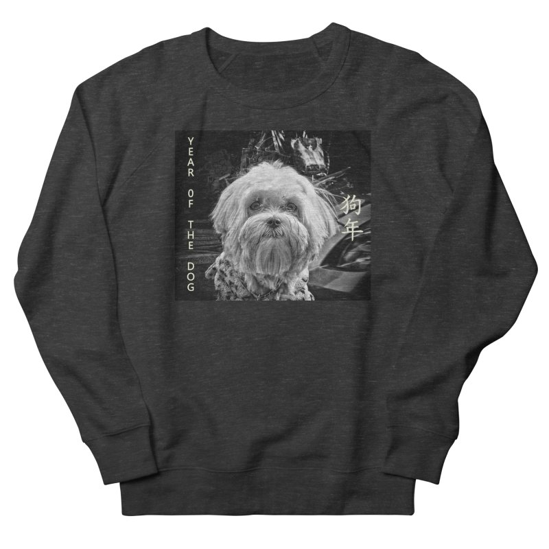 Year of the Dog Men's French Terry Sweatshirt by View From Brooklyn T-Shirt Shop