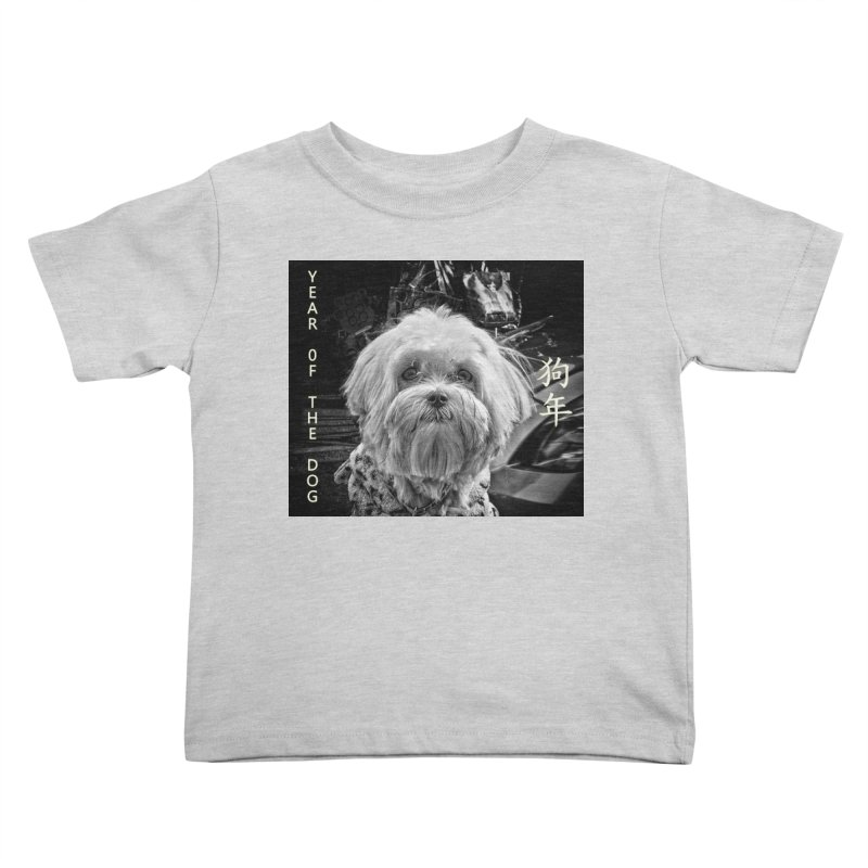 Year of the Dog Kids Toddler T-Shirt by View From Brooklyn T-Shirt Shop