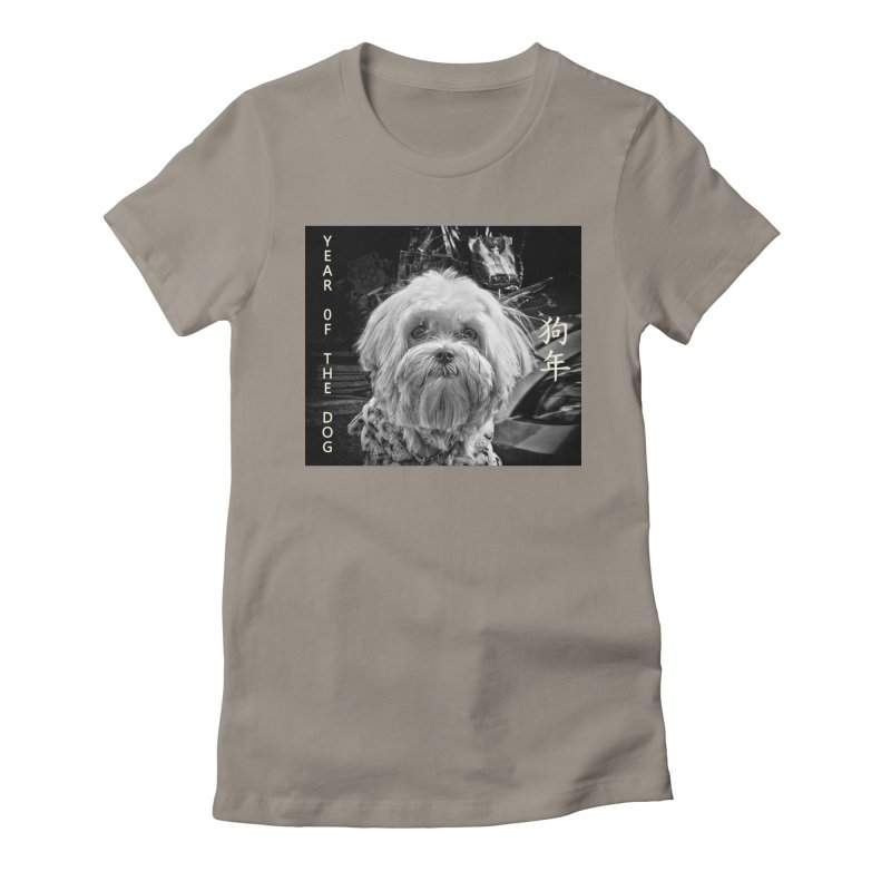 Year of the Dog Women's T-Shirt by View From Brooklyn T-Shirt Shop