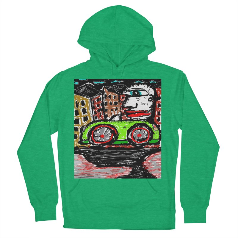 BOX CAR WILLY Women's Pullover Hoody by viggo's Artist Shop