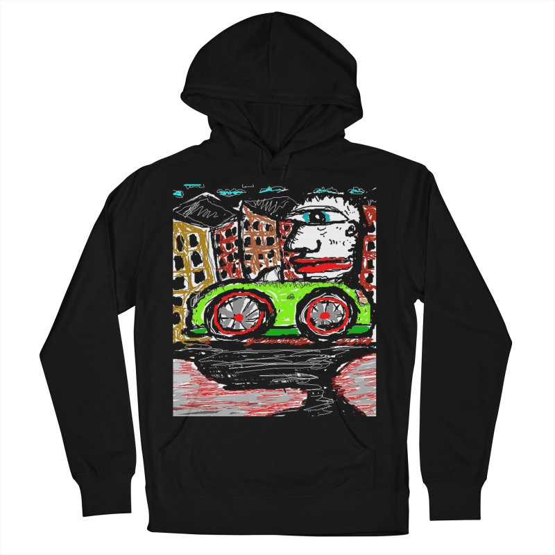 BOX CAR WILLY Men's Pullover Hoody by viggo's Artist Shop