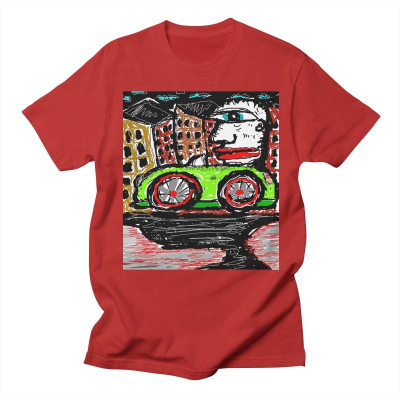 BOX CAR WILLY Men's T-shirt by viggo's Artist Shop