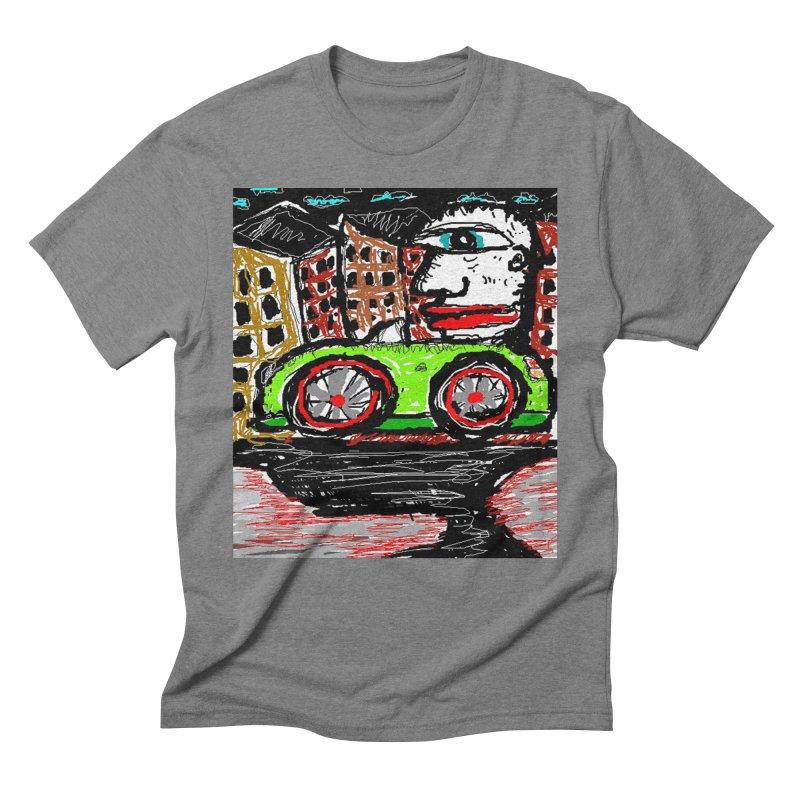 BOX CAR WILLY Men's Triblend T-Shirt by viggo's Artist Shop