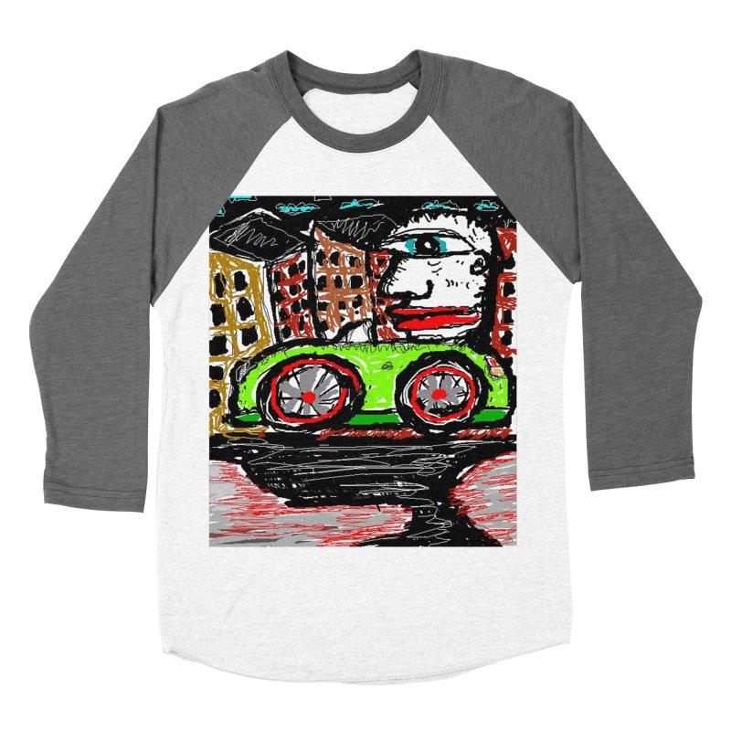 BOX CAR WILLY Women's Baseball Triblend T-Shirt by viggo's Artist Shop