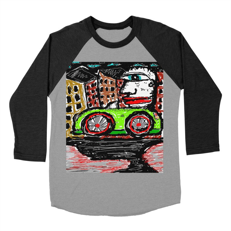 BOX CAR WILLY Men's Baseball Triblend T-Shirt by viggo's Artist Shop