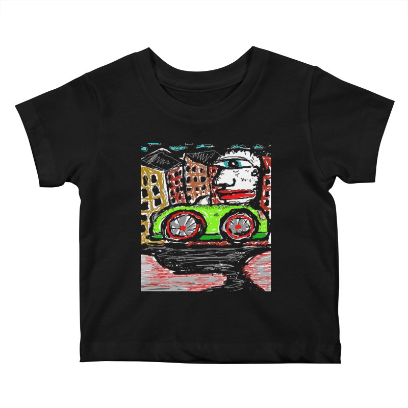 BOX CAR WILLY Kids Baby T-Shirt by viggo's Artist Shop