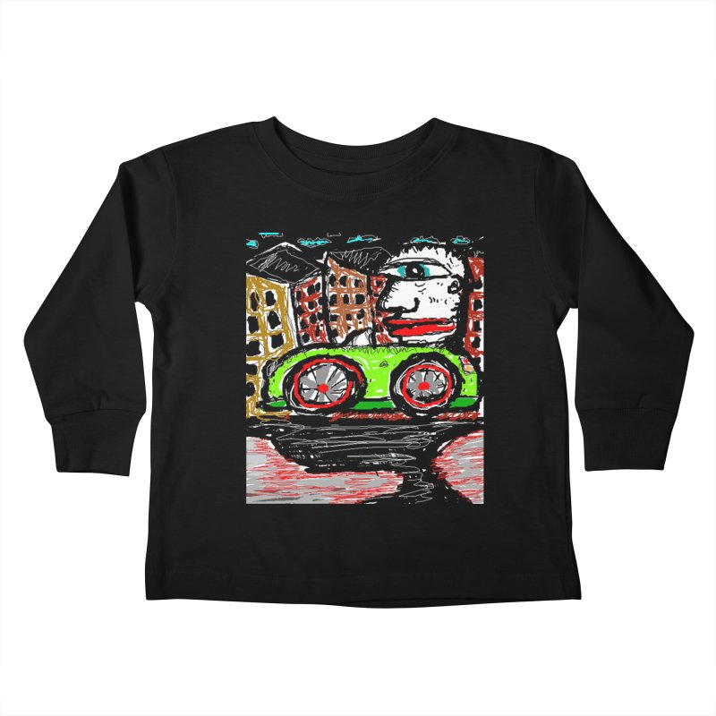 BOX CAR WILLY Kids Toddler Longsleeve T-Shirt by viggo's Artist Shop