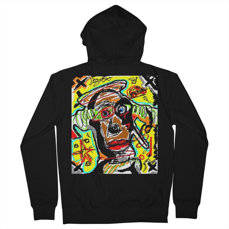 Mixed Up Men's Zip-Up Hoody by viggo's Artist Shop