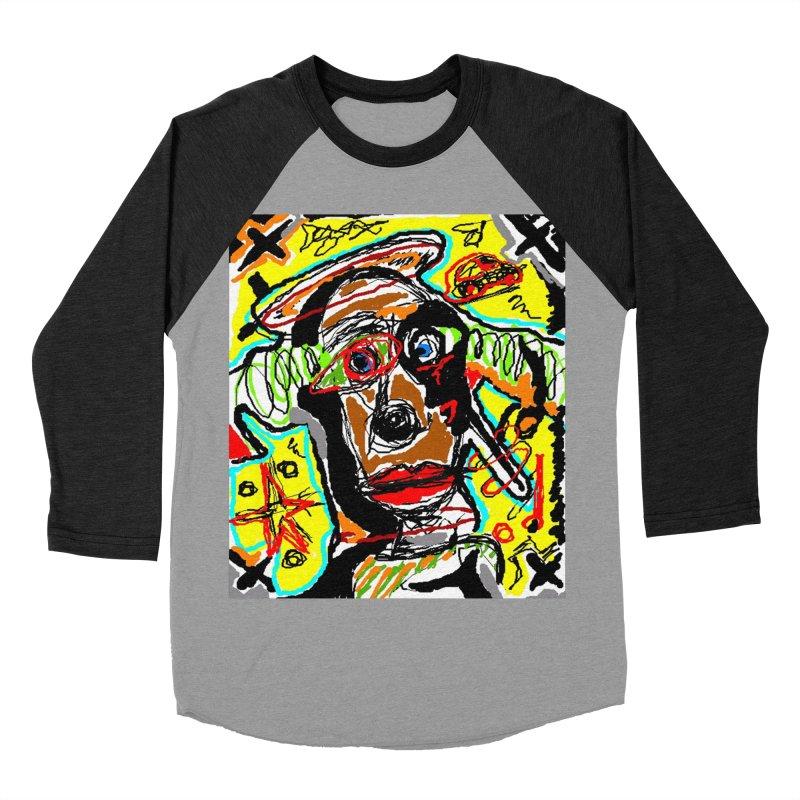 Mixed Up Men's Baseball Triblend T-Shirt by viggo's Artist Shop